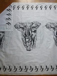 Stoff Elefanten